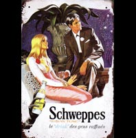 SCHWEPPES PIN UP SUISSE
