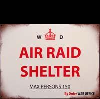 AIR RAID SHELTER ABRIS ANTI ATOMIQUE
