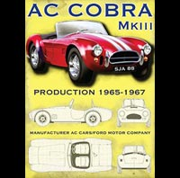 PLAQUE US AC COBRA MKIII