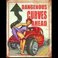 PIN-UP DANGEROUS CURVES