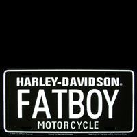 Plaque publicitaire deco LP FAT BOY