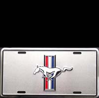 PLAQUE AMERICAINE DECO PLAQUE IMMATRICULATION MUSTANG LP USA