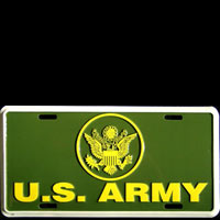 Plaque publicitaire US ARMY plaque licence plaque USA US ARMY vraie plaque d'immatriculation en métal relief US ARMY - Plaque pub plaque d'immatriculation de l'armée américaine US ARMY plaque d'immatriculation US ARMY - US ARMY license plate licence plate