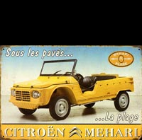 MEHARI PLAGE traction avant citroen