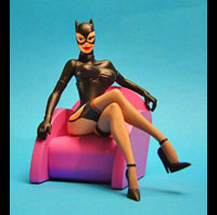 FIGURINE RESINE PIN UP CATWOMAN MIA