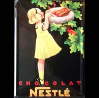 FILLETTE CHOCOLAT NESTLE NID OISEAU