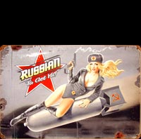PIN UP RUSSE USSR
