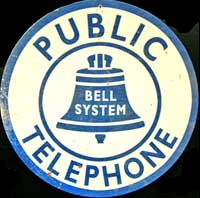 PUBLIC TELEPHONE BELL USA