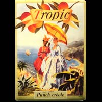 TROPIC PUNCH CREOLE RHUM MARTINIQUE GUADELOUPE ANTILLES