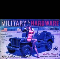 JEEP WILLYS 1940 PINUP BAS COUTURE JEEP
